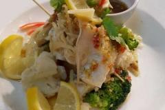 Pla Nueng Ma Nao (Stream Sea Bass)